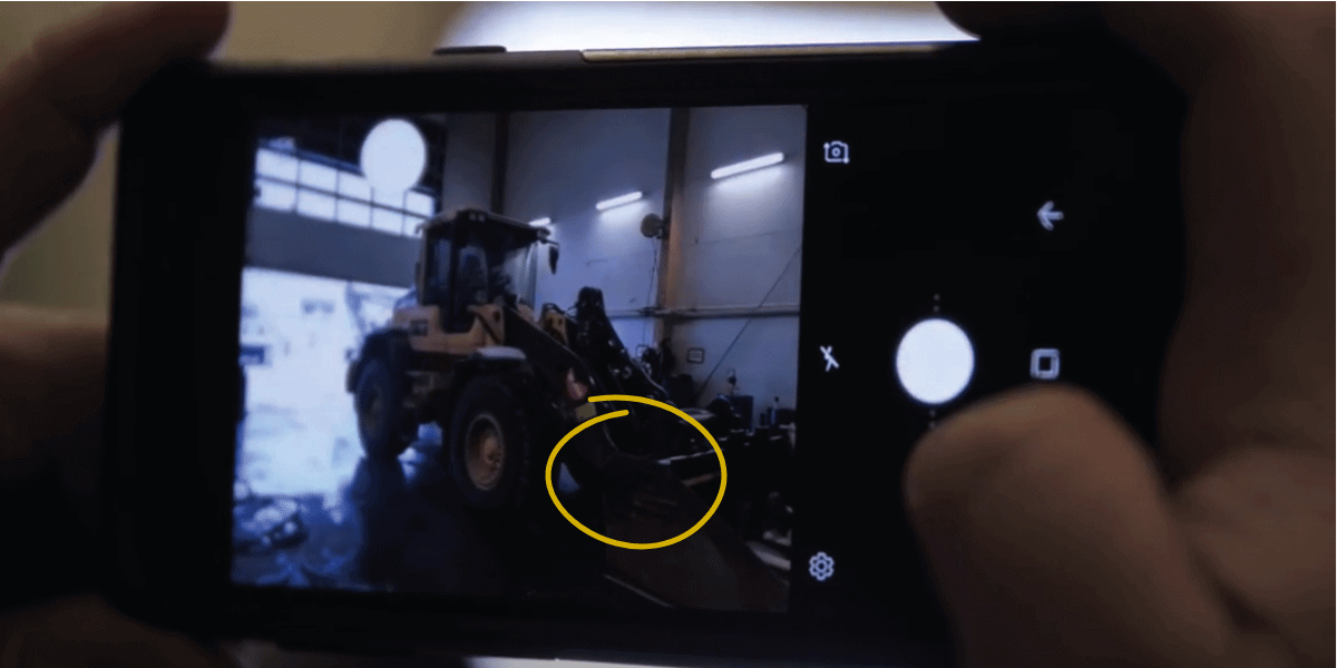 Mobile reporting with photo and annotation