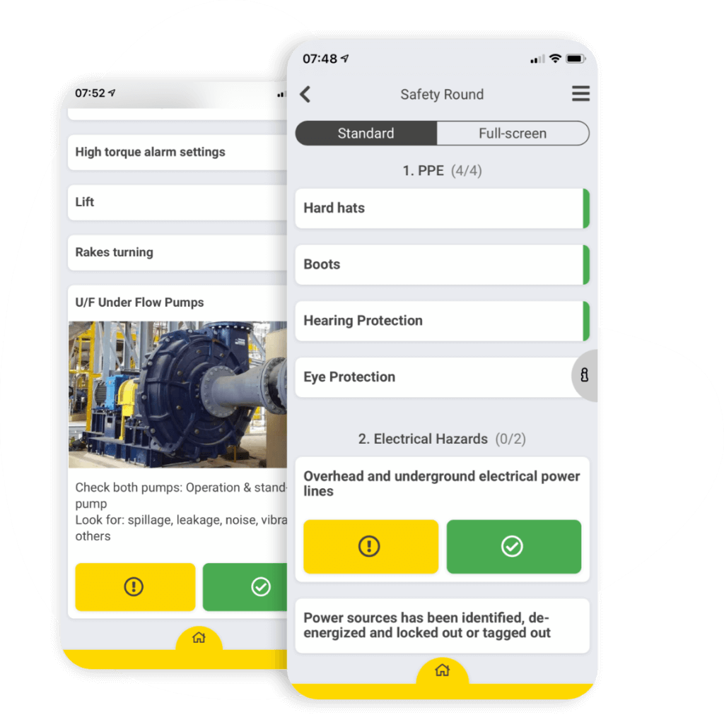 Mobile-first checklists & Audits